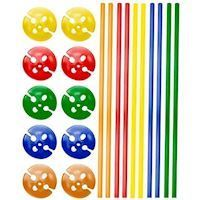 Balloon Holders Colored, 10pcs.