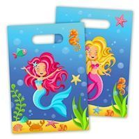 Mermaid bags, Mermaid, 8 psc.