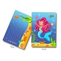 Invitations Mermaid, 8 psc.