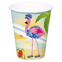 Cups Flamingo, 8st.