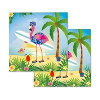 Napkins Flamingo, 20 psc.