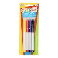 Ceramic Markers, 4pcs.