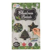 Christmas Hangers Scratch Set, 12dlg.