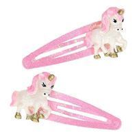 Hairclips with unicorn, 2st.
