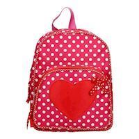 Backpack Heart with Dots