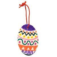 Color your own Easter Wooden Hanger, 6pc.