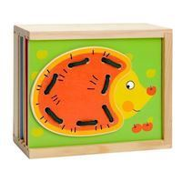 Beading Puzzle Box Animals, 9 pcs.