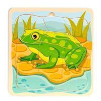 Layers Cycle Puzzle-Frog