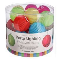 LED Party Lights Color, 20 Lampions