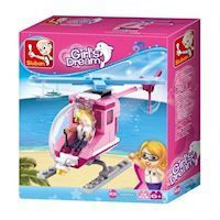 Sluban Girl's Dream Helicopter