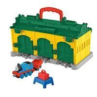 Fisher Price Tåget Thomas Portabel - Station Tidmouth