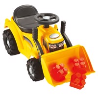 Abrick Maxi Walking Tractor with Frontloader
