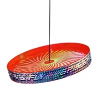 Acrobat Spin & Fly Juggling Frisbee - Red