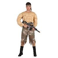 Adults Costume Strong Soldier