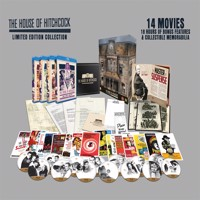 Alfred Hitchcock house collection, Blu-ray