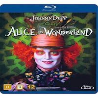 Alice i Eventyrland Tim Burton Blu-ray