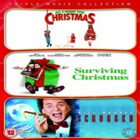 All I Want For Christmas Surviving Christmas Scrooged Triple pakke  DVD
