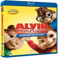 Alvin And The Chipmunks 14Alvin Og De Frække Jordegern 14 4disc Blu-ray