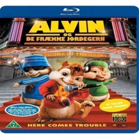 Alvin and the ChipmunksAlvin og de frække jordegern Blu-ray
