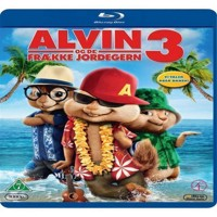 Alvin and the Chipmunks ChipwreckedAlvin og de frække jordegern 3 Blu-ray