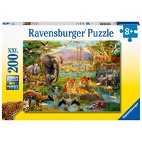 Animals of the Savannah Puzzle, 200st. XXL