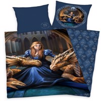 Anne Stokes dragons Bedlinen 100 % cotton