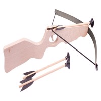 Crossbow big, strong steel with 3 arrows