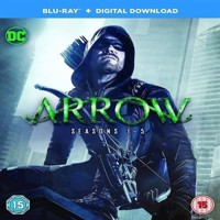 Arrow Seasons 15 Blu-ray