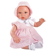 Asi - Leonora baby doll, rosa dress (46 cm)