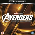 Avengers Collection 3 film, 4K Ultra HD Blu-Ray