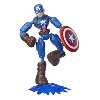 Avengers - Bend and Flex - Captain America - 15 cm