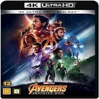 Avengers Infinity War  UK 4K Blu-ray