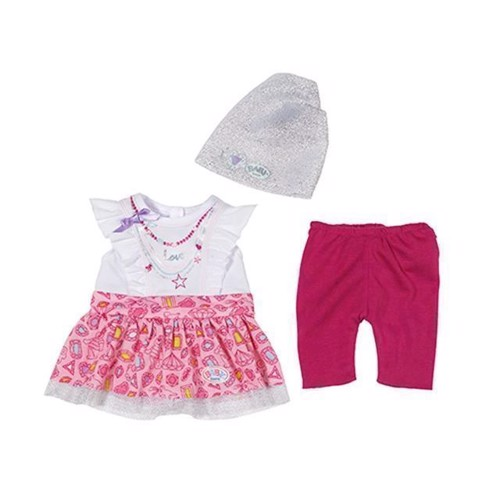 Baby Born - Fashion Collection, White and Pink