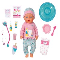 Baby Born bath soft touch doll