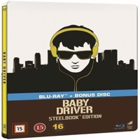 Baby Driver  Steelbook Blu-ray