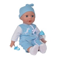 Baby Laura Pop Boy with Accessories, 38 cm