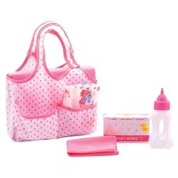 Baby Rose Diaper Bag with Accessories