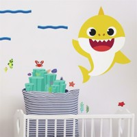 Baby Shark Gigant Wallstickers