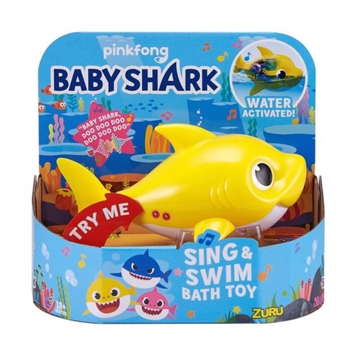 Baby shark yellow