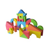 Baby trold foam building bricks