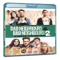 Bad Neighbours 1  2 Blu-ray