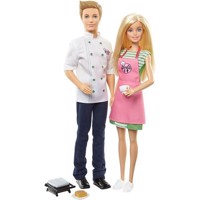 Barbie - Barbie & Ken Cafe 2 pack (FHP64)