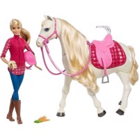 Barbie - Barbie with Dream Horse (FRV36)
