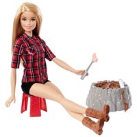 Barbie - Camping Fun Doll (FDB44)