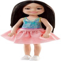 Barbie - Chelsea and Friends Dolls - Blackhaired Girl (FHK92)