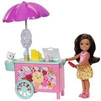 Barbie - Chelsea Playset - Ice Cream Cart