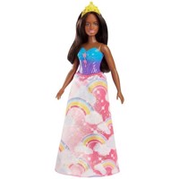 Barbie - Dreamtopia Princess Doll Dark Rainbow Cove (FJC98)