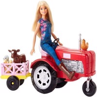 Barbie - Farmer Doll and Tractor Set (FRM18)