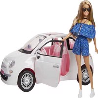Barbie - Fiat 500 including Barbie Doll