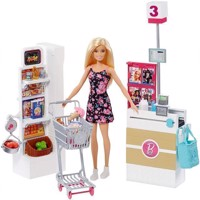 Barbie - Supermarket Set